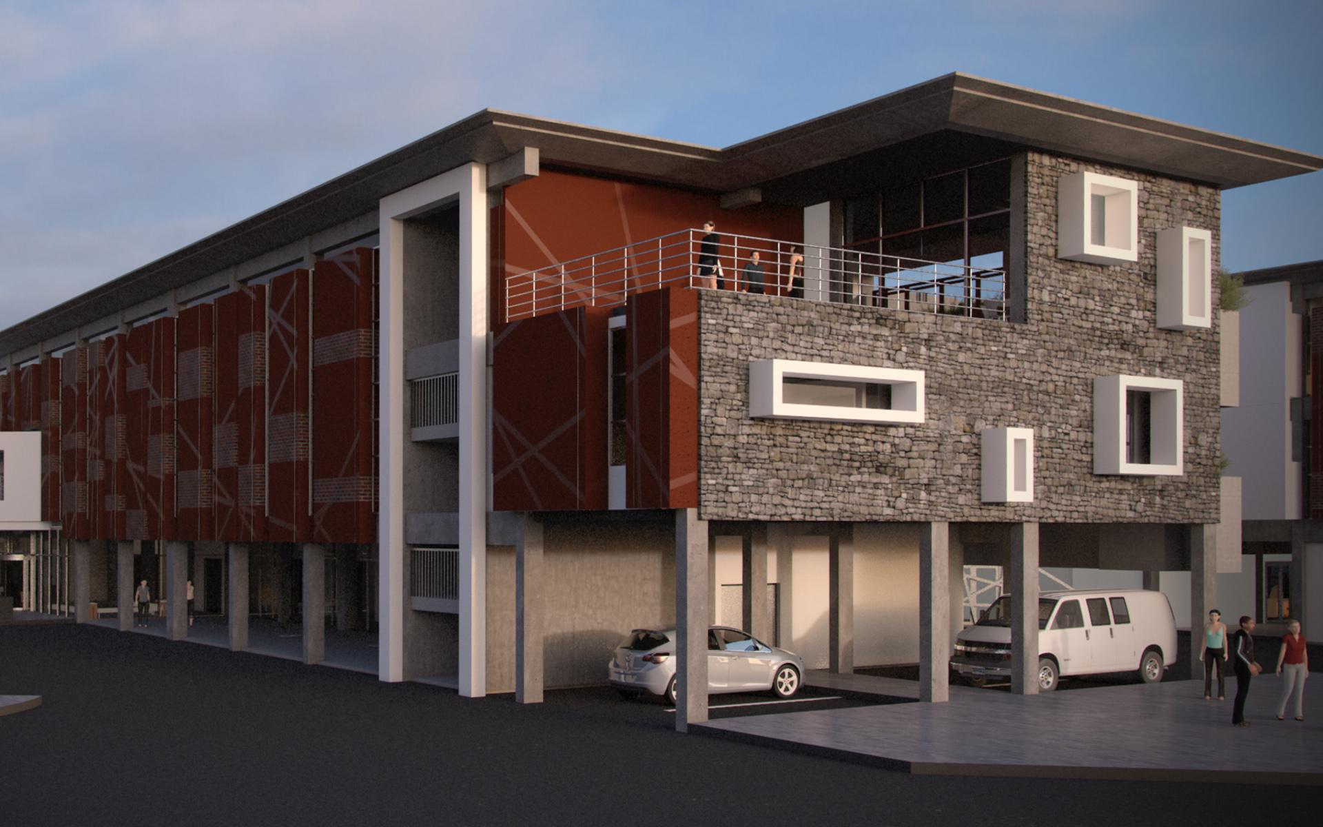 Bojanala Green Building