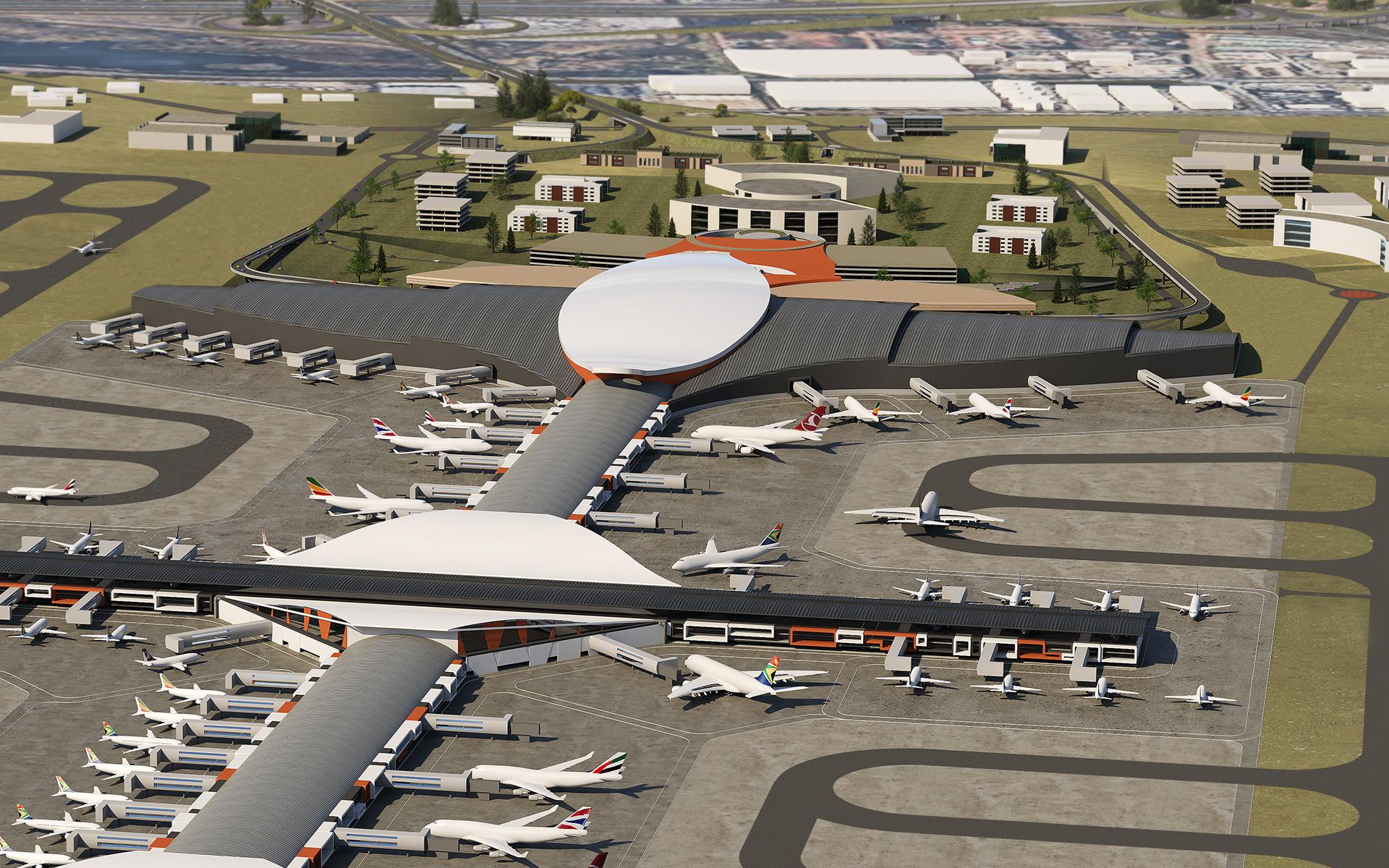 OR Tambo International Airport Master Plan