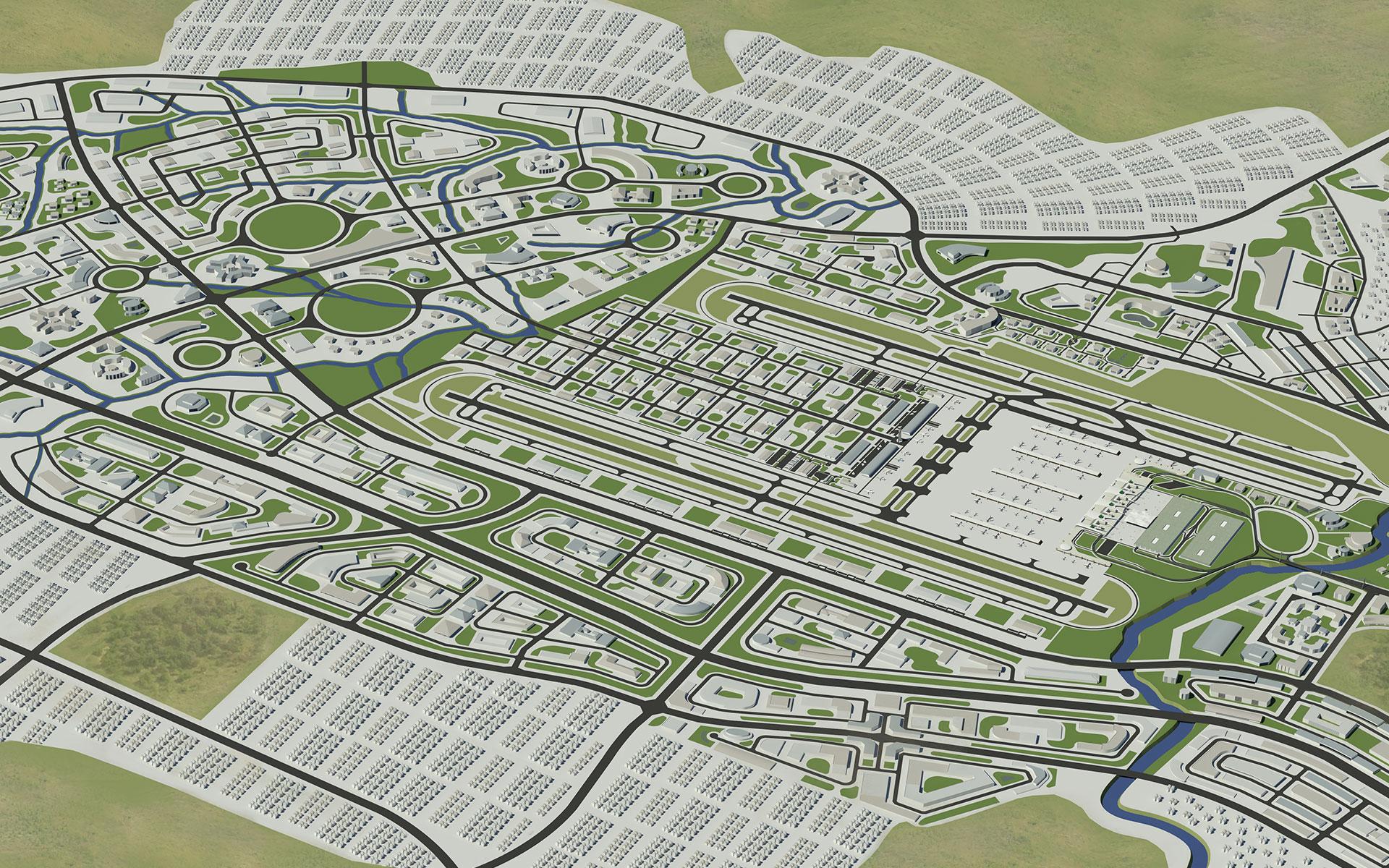 Lanseria Master Planning by Delta BEC