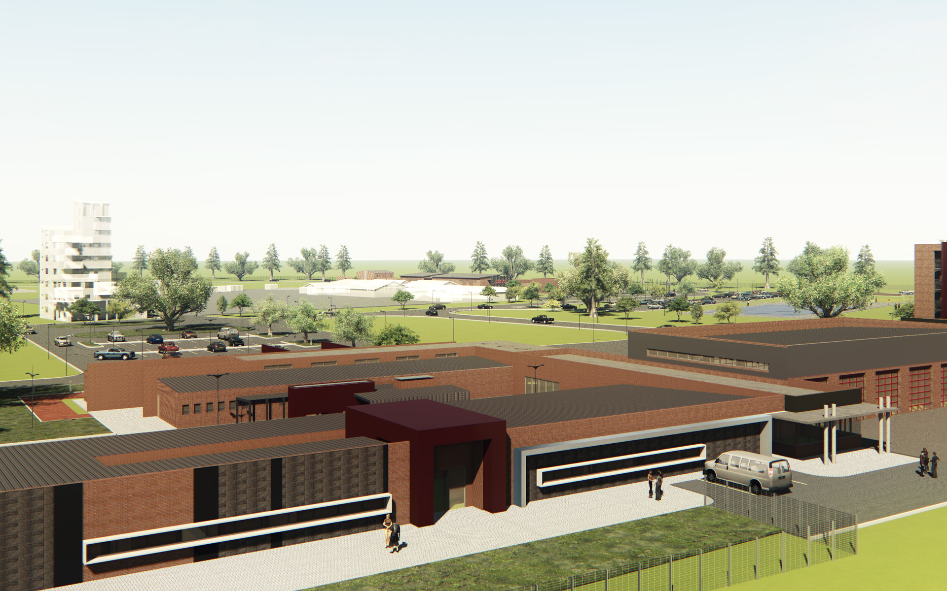 Lehae Training Academy & Fire Station by Delta BEC